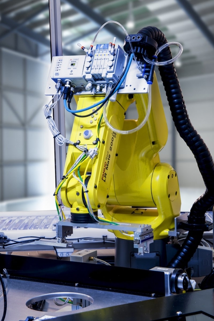 FANUC Robot with End of Arm Tool