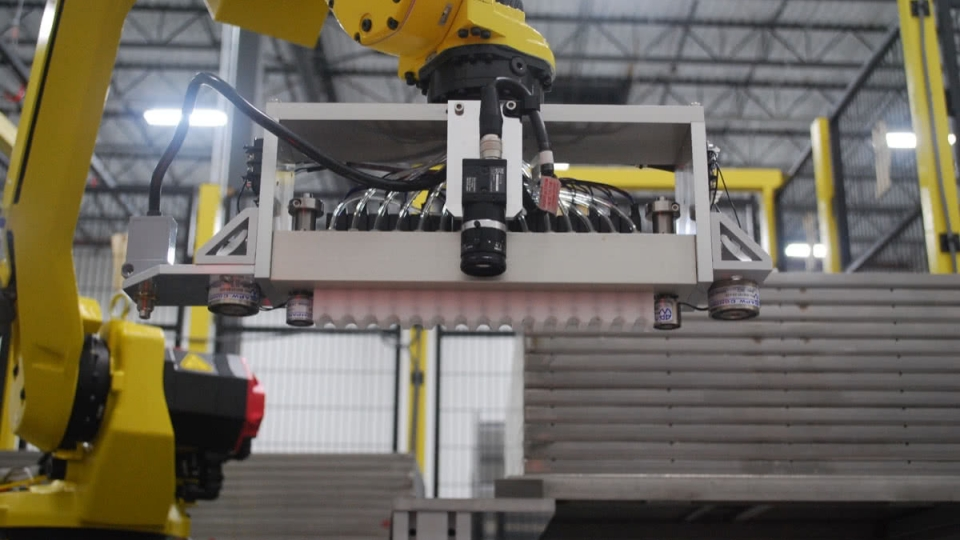 FANUC Robot with IRVision Guiding