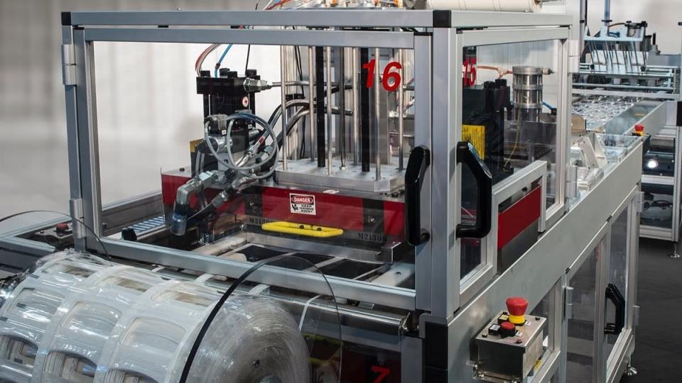 Hydraulic or Servo Match Metal Die Cutting