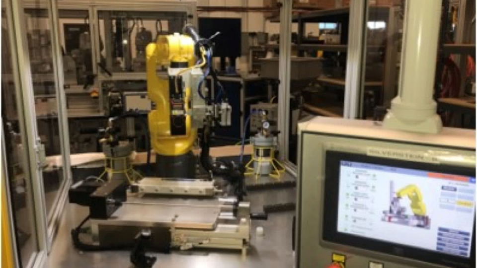 Vision Guided Glue Dispensing Robot on Medical Device