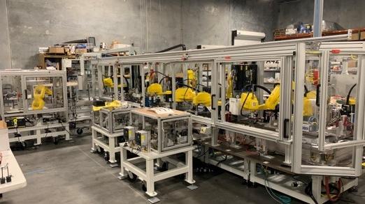 6 Bay Modular Assembly Platform