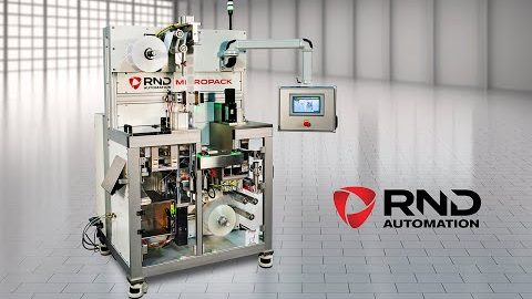 RND MicroPack Horizontal Form, Fill and Seal Machine