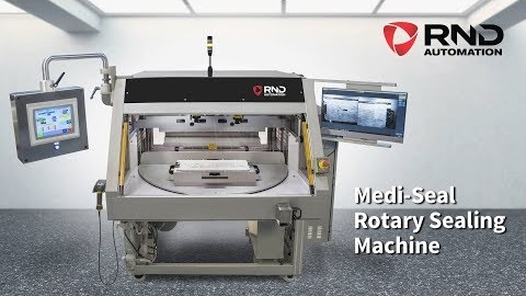 RND Automation's MDC MediSeal Large Format Tray Sealer System